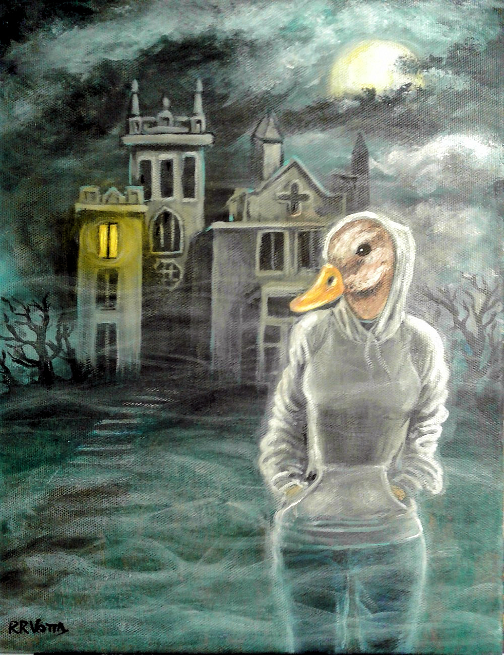 Duck-Girl & The Haunted Mansion